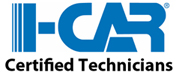 I-CAR certificed technicians